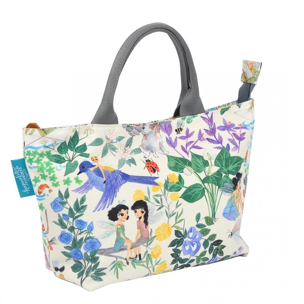 Hand Bag Secret Garden Cream