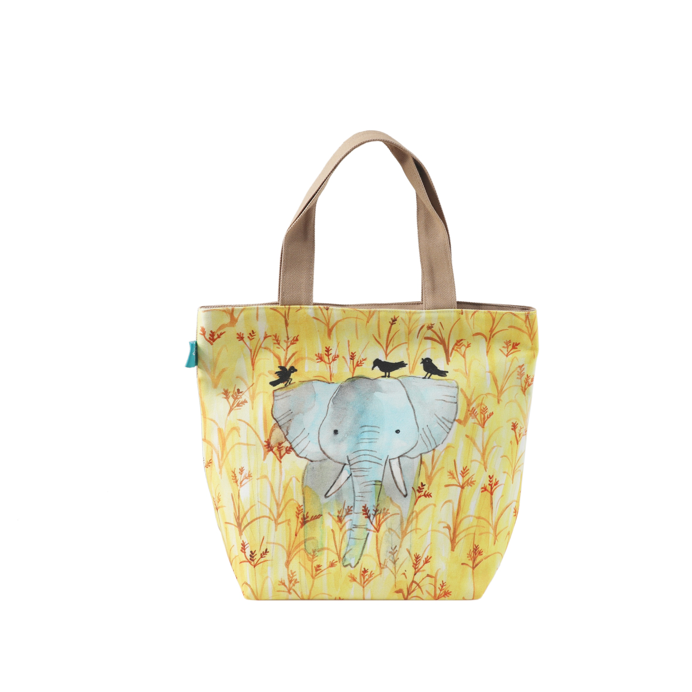 Sumatran Elephant Lunch Bag