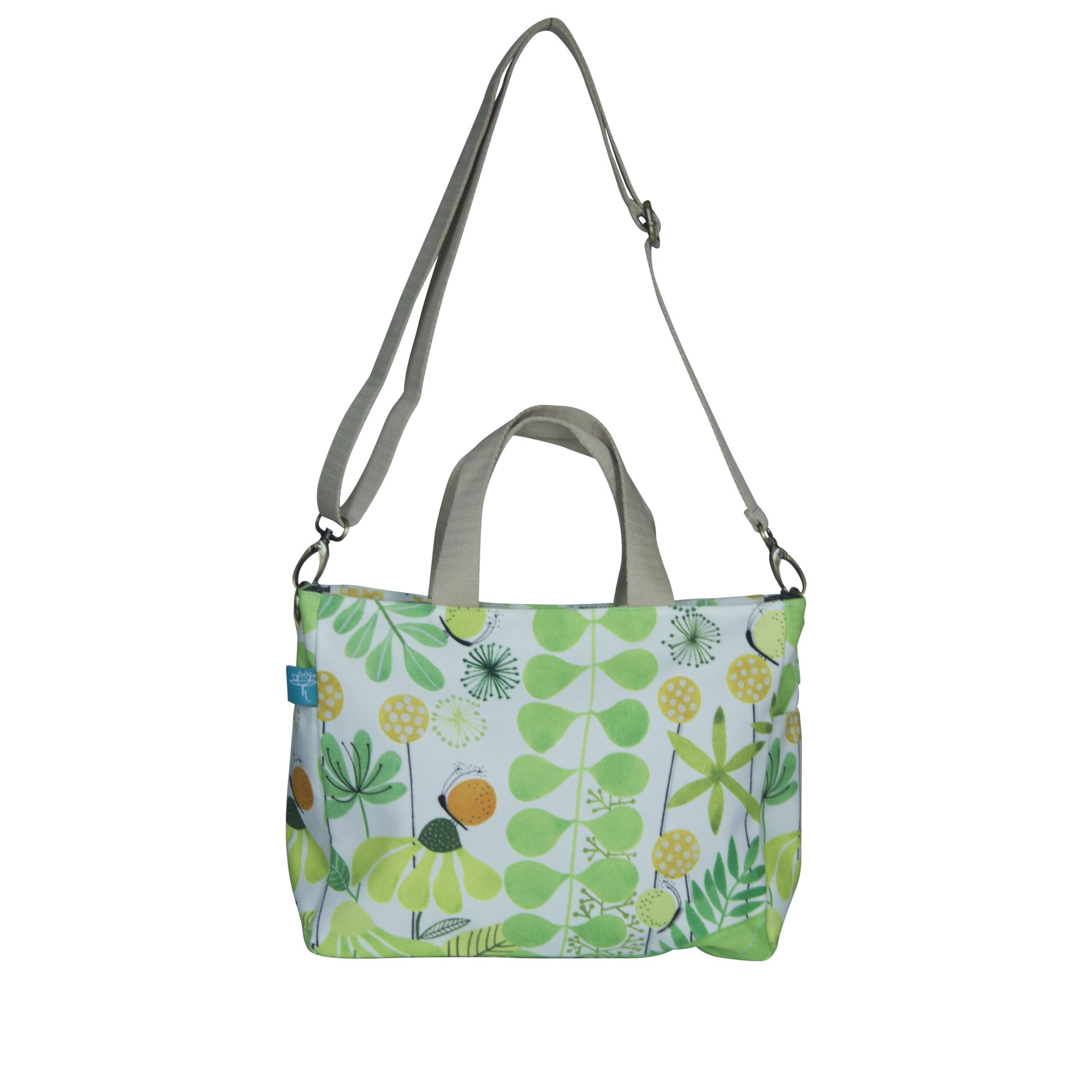 Flower Green Jhonny Bag Sling