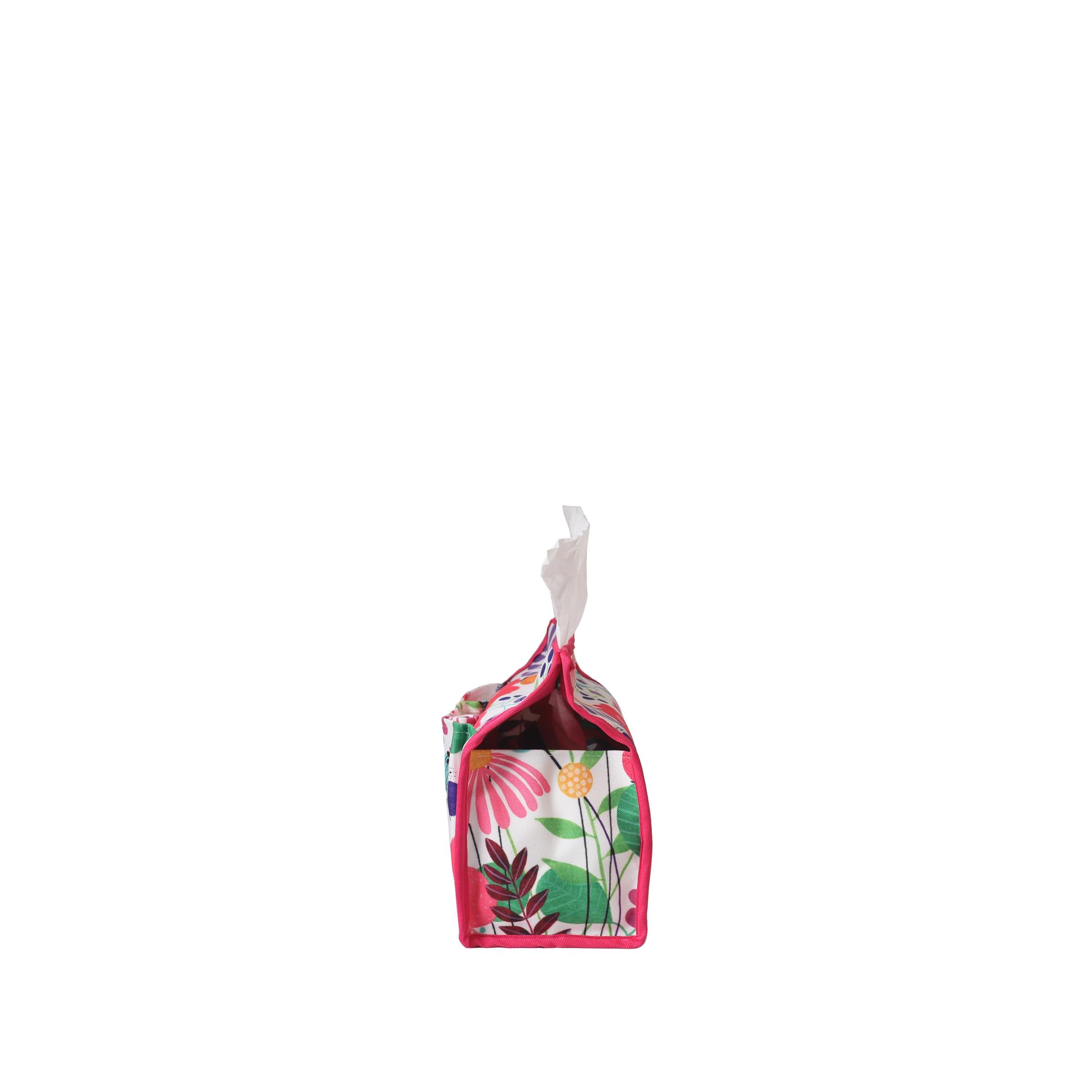 Flower Pink Kotak Tissue